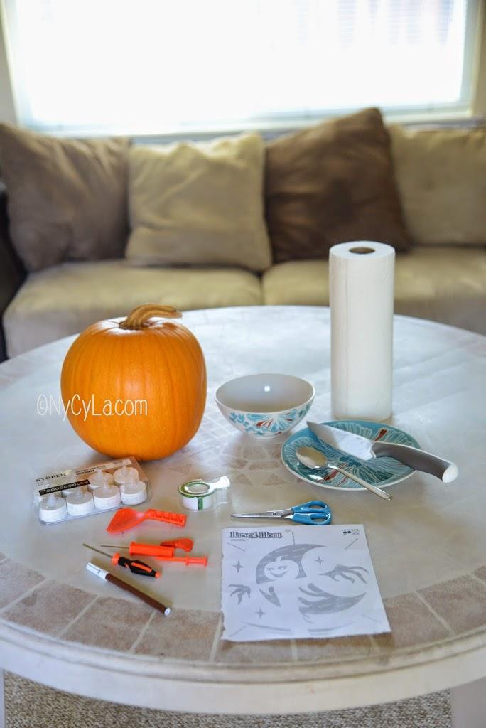 Diy 6 comment creuser une citrouille d halloween nycyla - Comment creuser une citrouille ...