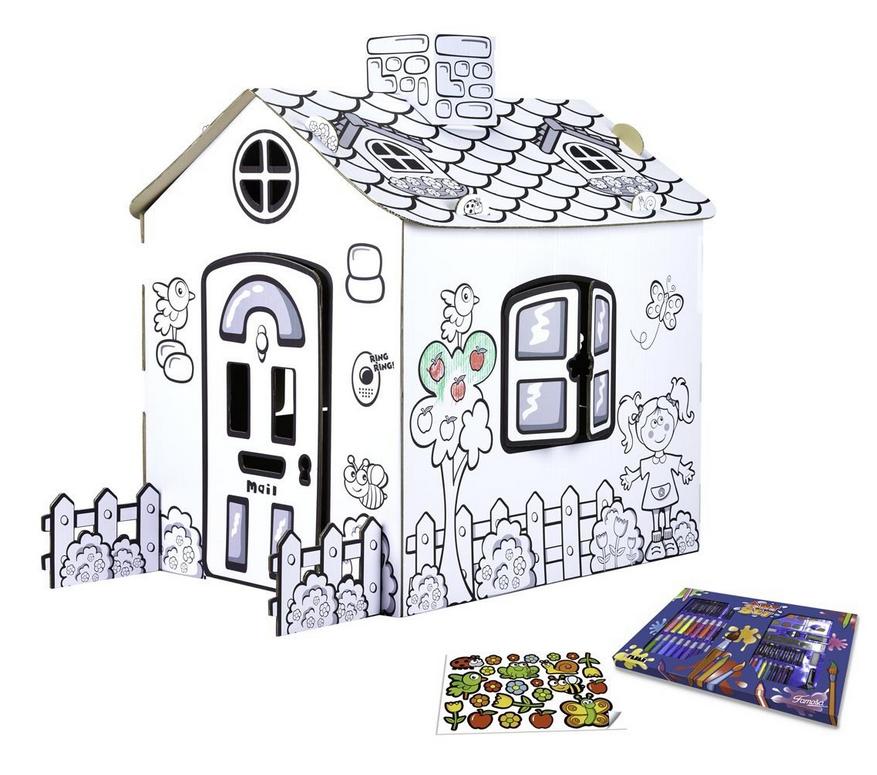 10 id es d activit s pour un anniversaire 3 ans nycyla for Maison en carton a colorier